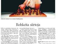Helsingin Sanomat  (10 April 2005, Finnish)