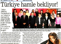 Sabah Newspaper (Turkish)  (March 7, 2009, Turkish)