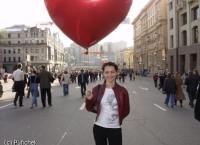Walk in Moscow on Victory Day