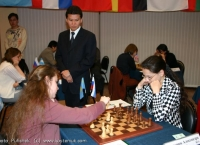 The First round of the WCC 2004 in Elista