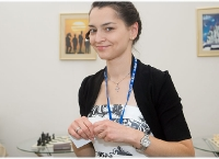 Kosteniuk is the Star at the St. Petersburg Economic Forum